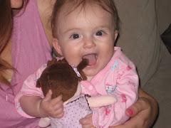 Hannah with her mini Hannah