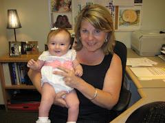 Hannah with Nana