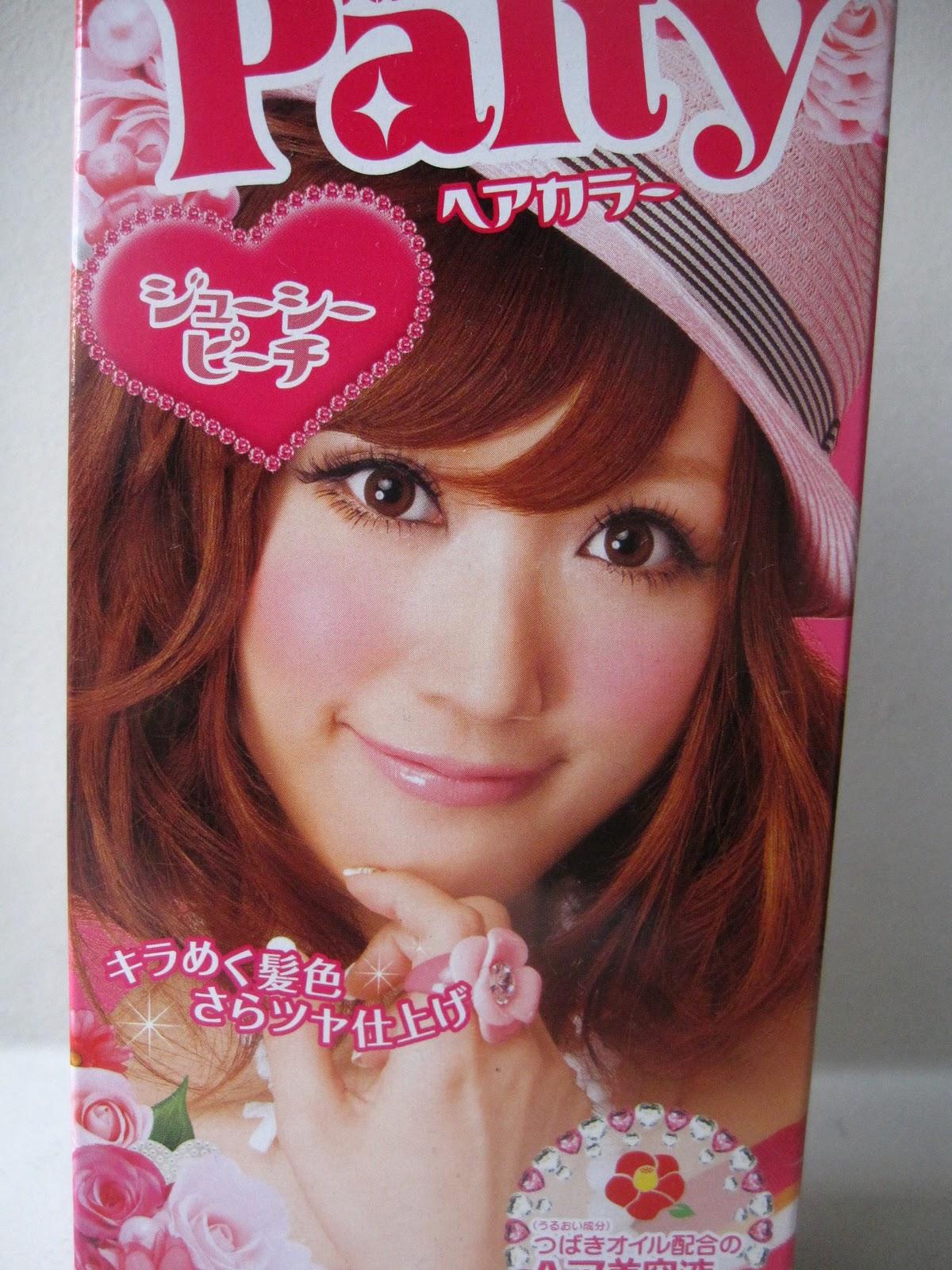 Palty Hair Color Japan Palty Girl Hair Colour Juicy Peach