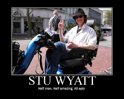 Stu Wyatt You Rock!