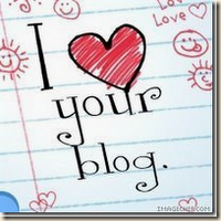 I Love Your Blog Award (x6)
