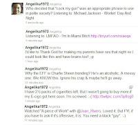 Angelika's Tweets 1-11-11