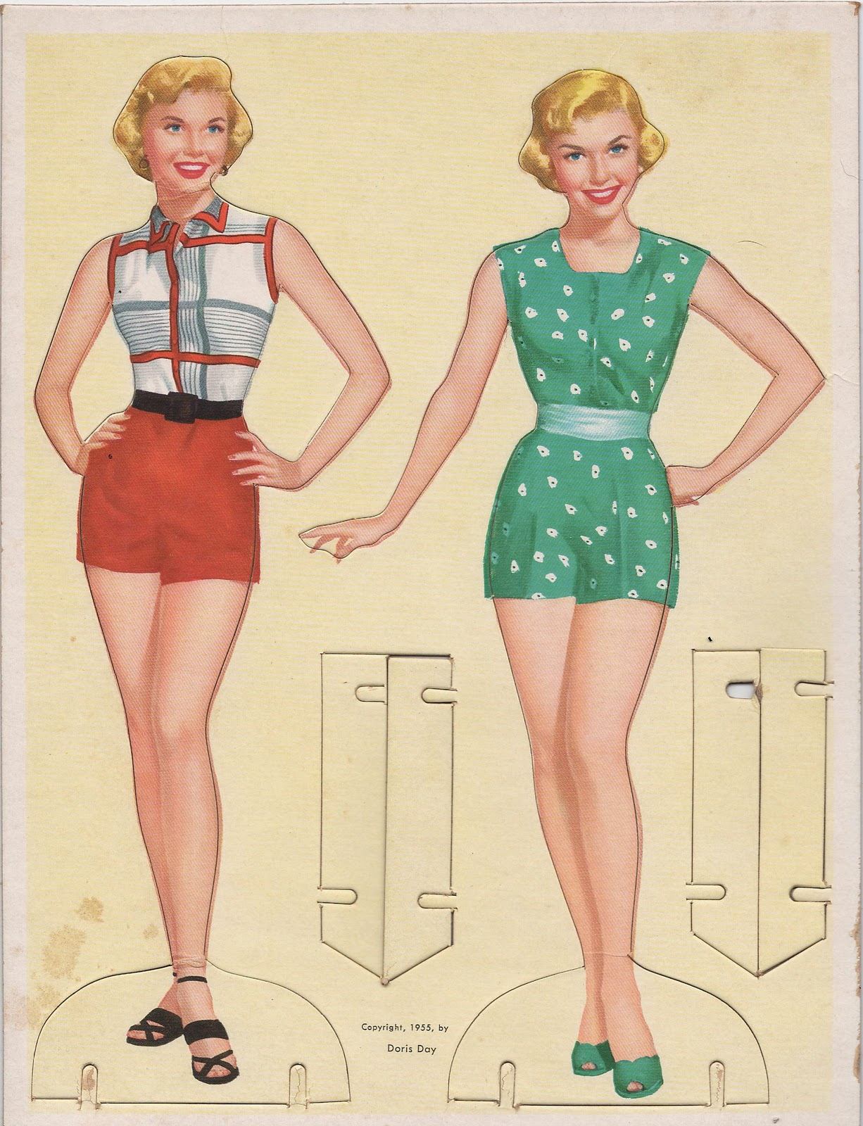 paper doll Download and print out these paper doll templates, then have fun coloring them in and cutting them out.