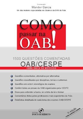 Como funciona o exame da oab