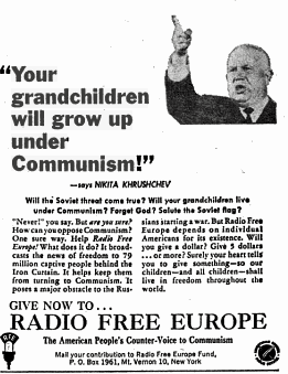 Khrushchev: We will bury you--yeah right!