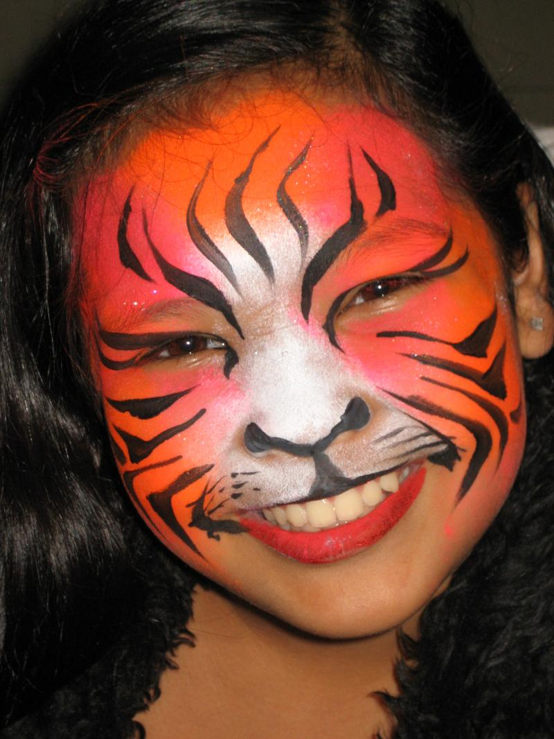 Facepainting2013 why you should keep up with face for Latest face painting designs