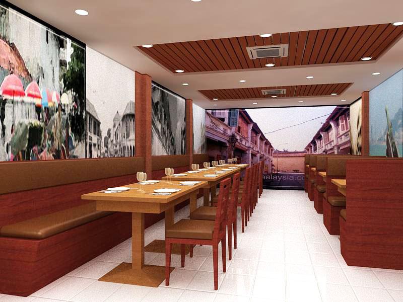 Interior Design Freelance HAMEEDIYAH RESTAURANT Campbell Street