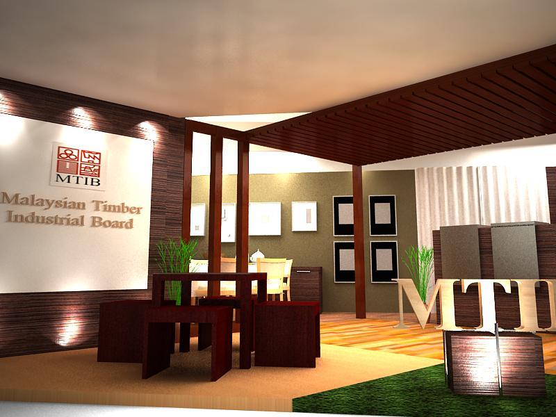 Interior design freelance exhibition booth penfurnex