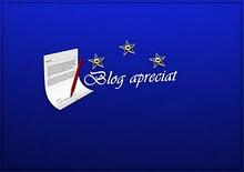 """Premio """"Aprecio tu blog"""""""