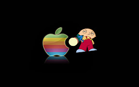 Stewie Hates Mac Family Guy Wallpaper 1440x900