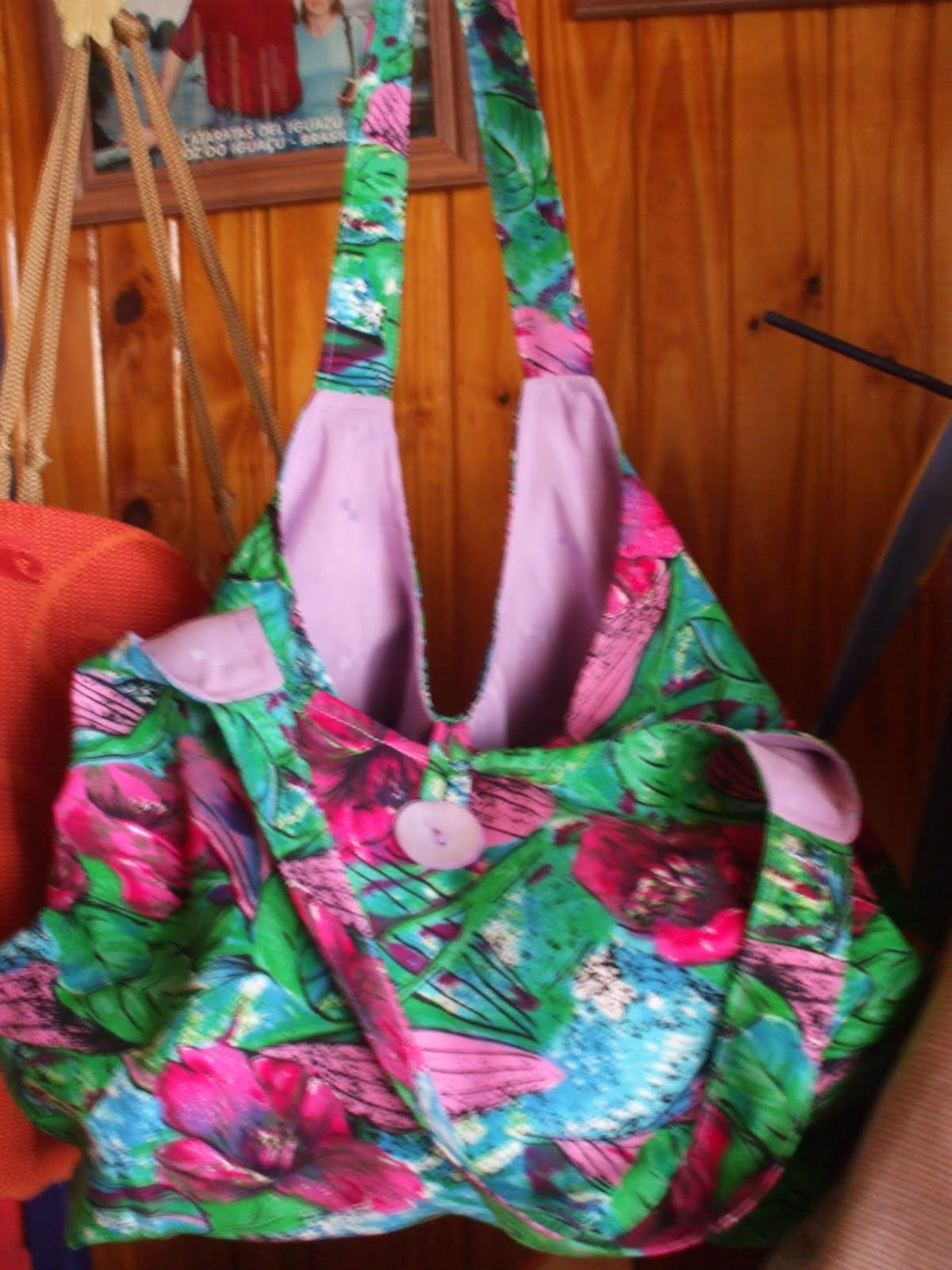 Colecci n primavera 2010 luz bolsos artesanales - Bolso con luz interior ...