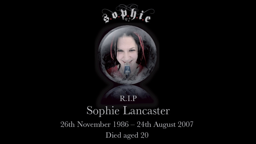 Sophie Lancaster