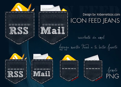 Jeans RSS icons