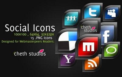 CS social icons