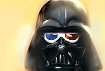 works::darth vader 3d