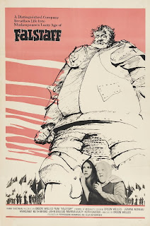 This poster shows Falstaff as 'that huge hill of flesh'