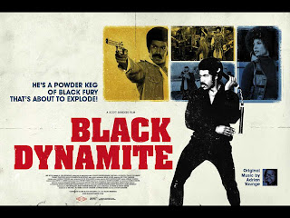 This poster does not make it clear that Black Dynamite is a comedy