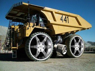 Isaac Likes Really Big Trucks