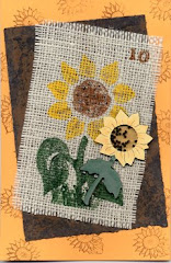 SUNFLOWER SHAKER BOX CARD