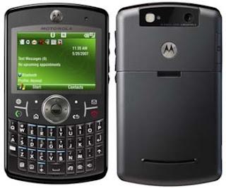 Menggunakan Motorola Q9 sebagai modem Moto+q9