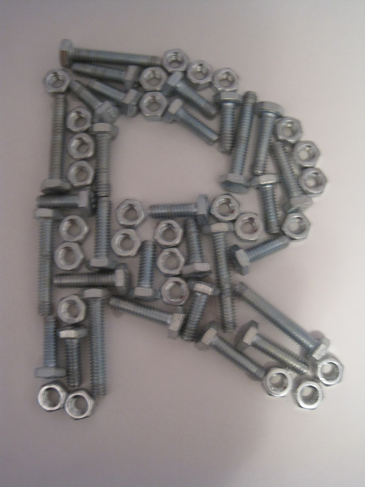 Crafts And Crap Nut And Bolt Monogram