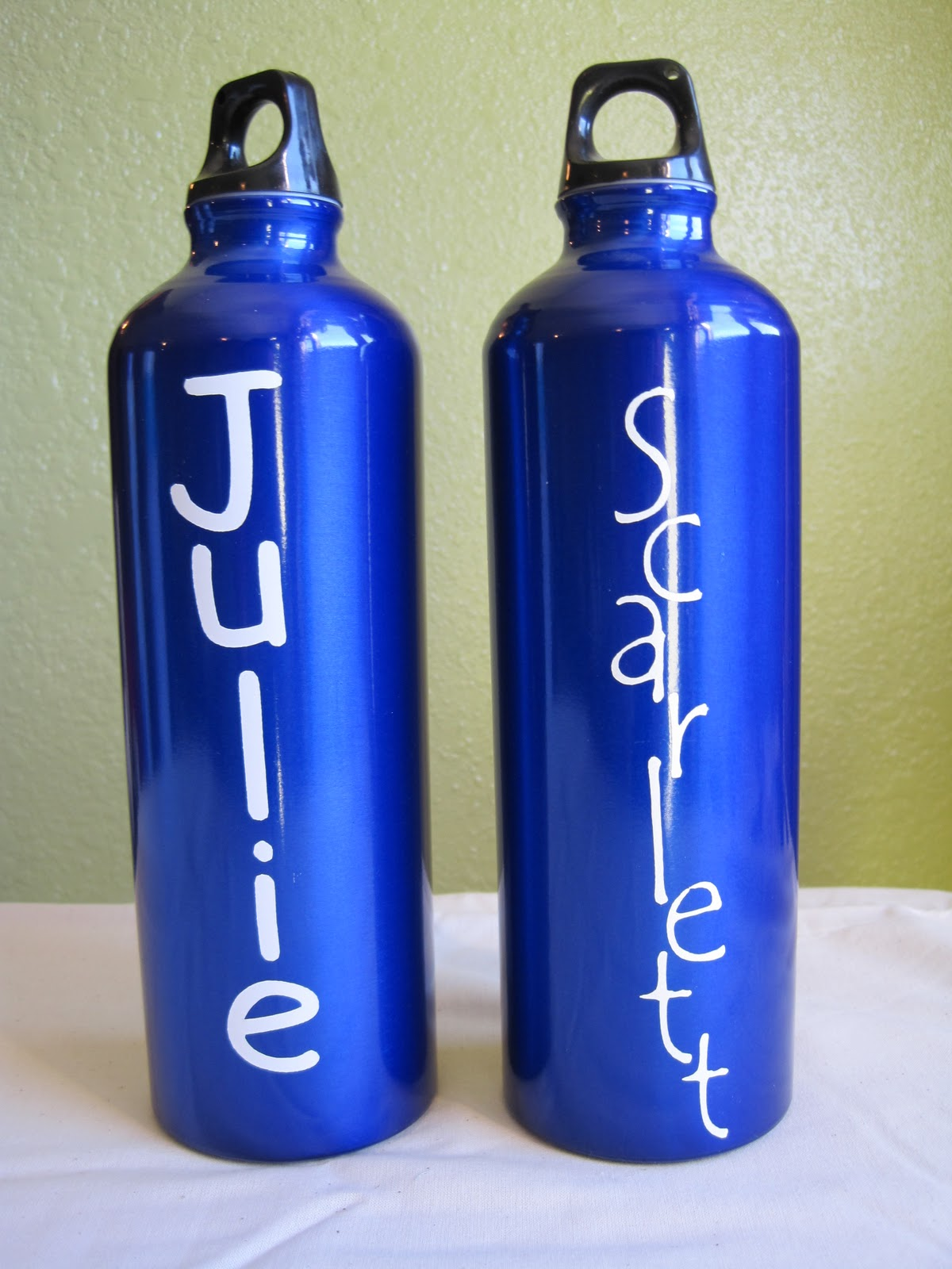 Crafts and crap personalized water bottles for Custom bottled water bottles