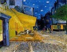 梵谷:星夜下的咖啡館