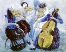 潘一杭:藍色西洋四重奏