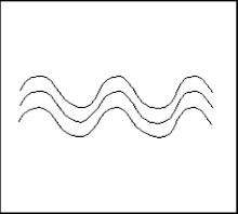 Ponto Riscado de Iemanjá na Umbanda é o mesmo desenho do Calçadão de Copacabana