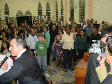 Pastor Washington Batista, hoje lavado no Sangue de Jesus