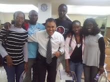 Moisés Di Souza e os Africanos de Guiné Bissau e Nigéria