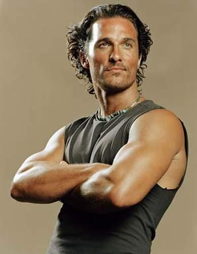 Matthew McConaughey (what is there not to like about this man?)