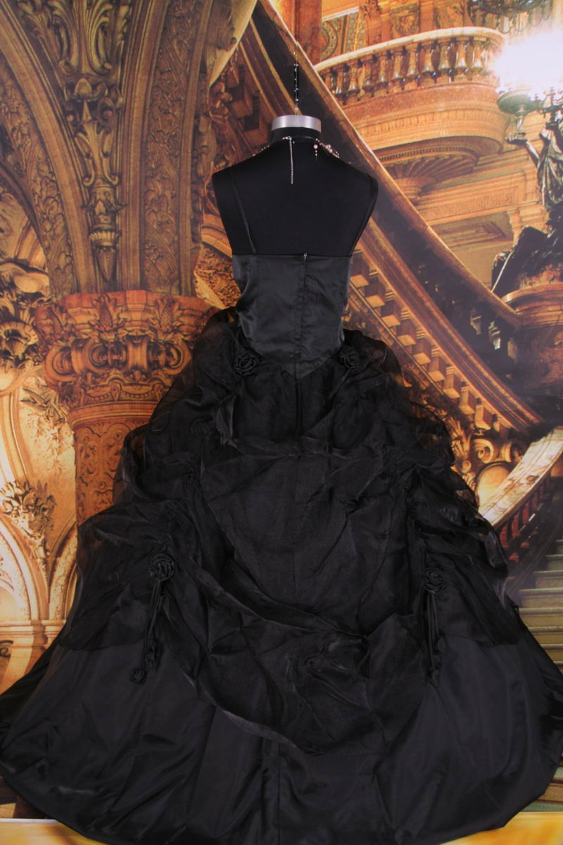 Gothic Black Wedding Dresses For  : Gothic and black wedding dresses handmade victorian