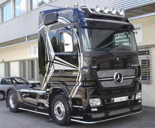 videos de camiones mercedes benz actros 3