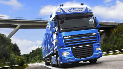 videos de camiones daf xf105 d
