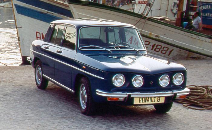 1965 Renault 8 Major. El Renault 8 (Renault R8 hasta