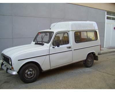 coches de los 80 renault 4 furgoneta