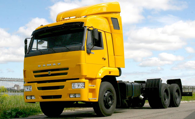 videos de camiones kamaz cabeza tractora
