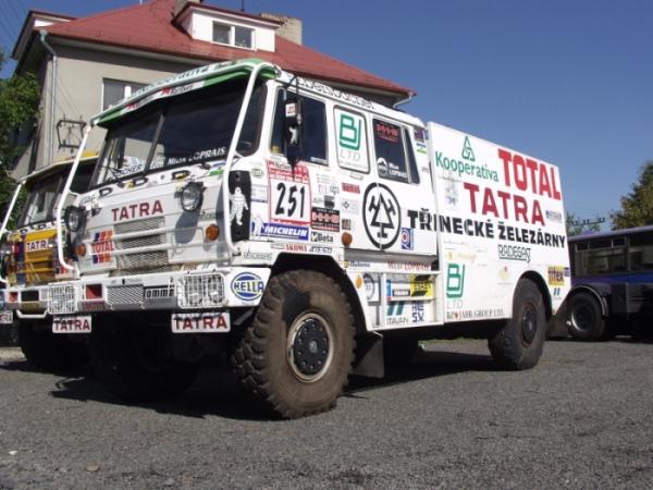 videos de camiones tatra dakar