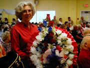 Kathleen Gehr at the Memorial Day Service