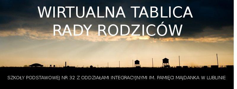 Wirtualna tablica Rady Rodziców SP 32 w Lublinie