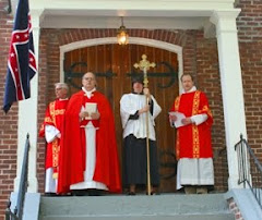 At the Blessing of Bishop Polk&#39;s Corps Flag
