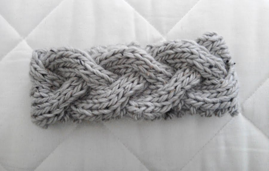 Free Headband Knitting Patterns : LuluKnits: Braided Knit Headband