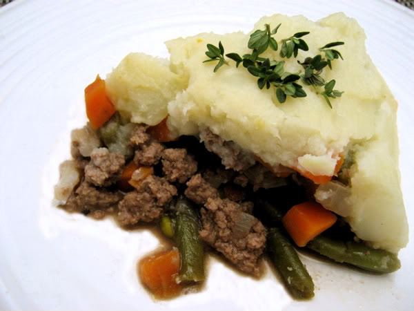 This Shepherd's Pie recipe is borrowed from Mark's Daily Apple ...