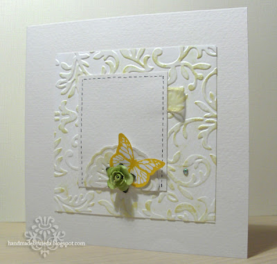 green and soft yellow valentine
