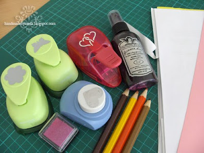 masking tutorial supplies