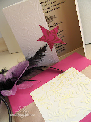 star quinceanera invitation