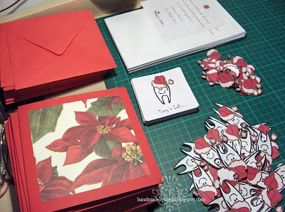 how to make Christmas cards for dentists