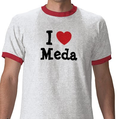 I love Meda T-shirt