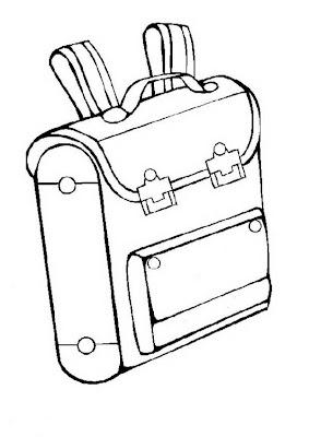 mala da escola mochila para colorir desenhos escolares desenhos